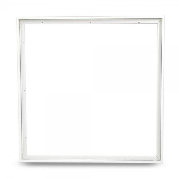 Aufbaurahmen für LED Panel 30x30 cm aus Aluminium (weiß)